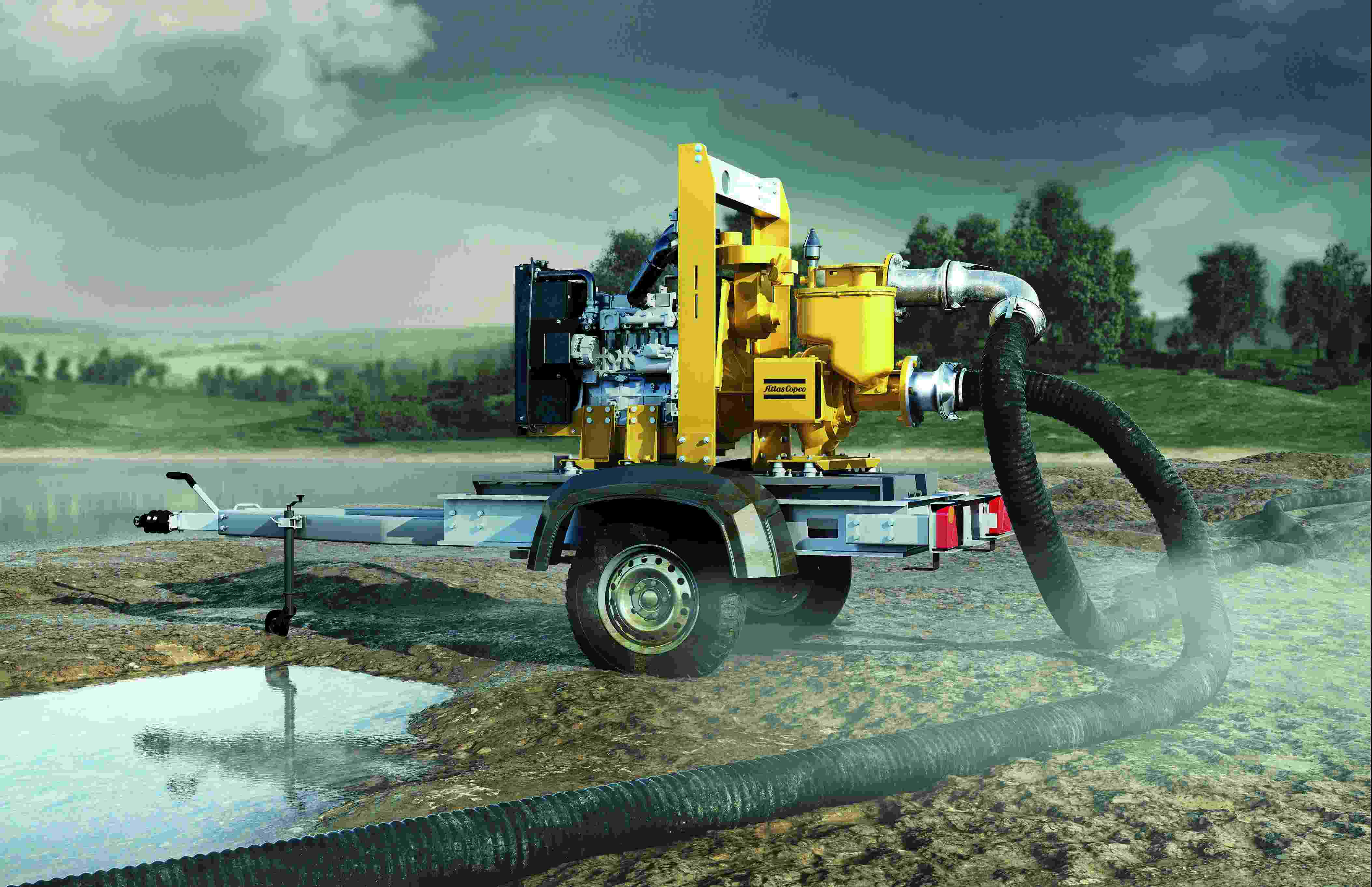 Atlas Copco Launches 30 New High Flow Dewatering Pumps