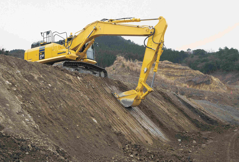 Komatsu Equipment in Operation