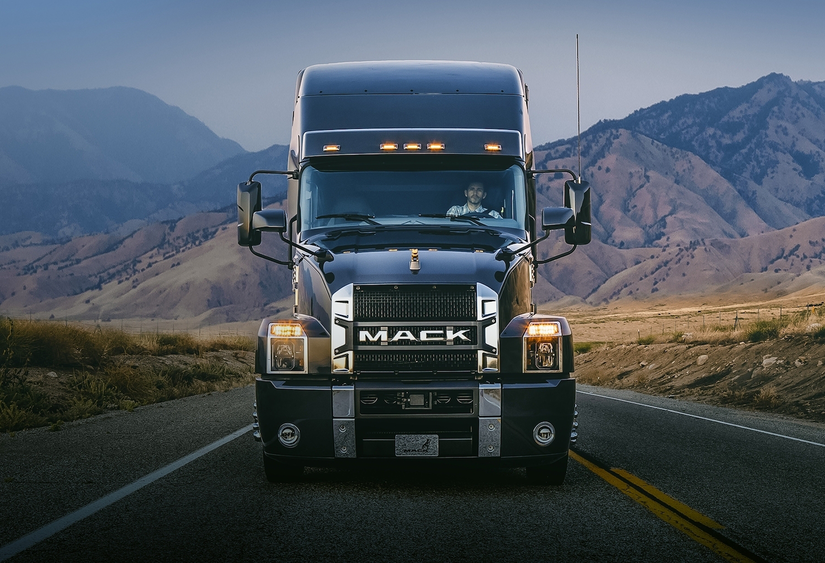 Mack unveils Anthem, a brand new on-highway tractor