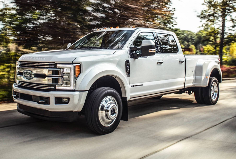 super duty limited   ford    redefined  luxury pickup