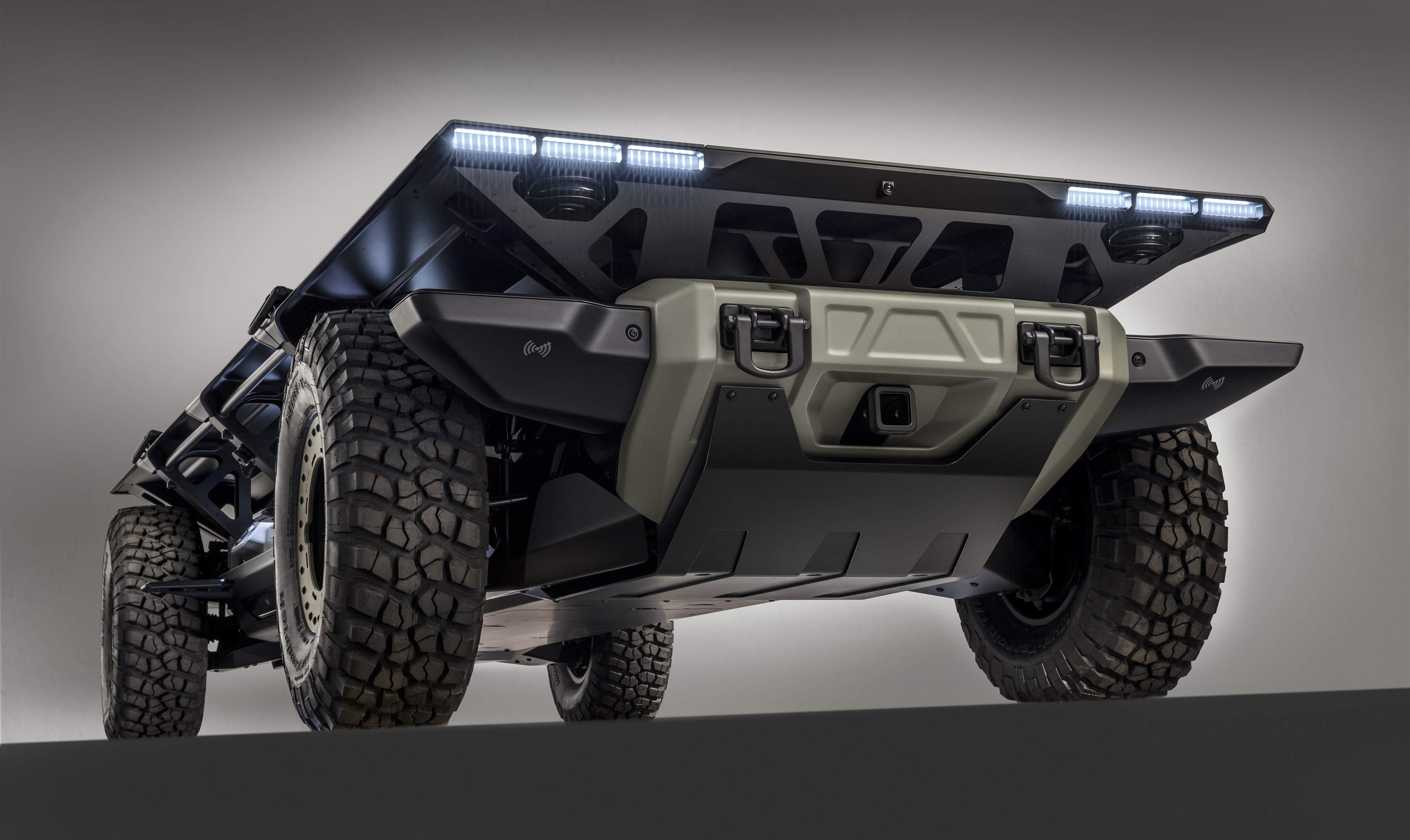 Gm Unveils Surus A Fuel Cell Chassis For Autonomous Work