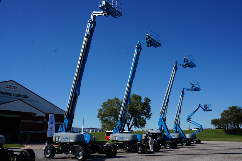 Genie XC aerial charlotte nc dump truck company platforms