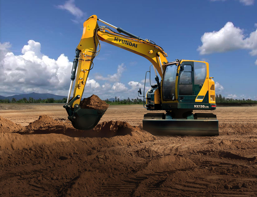 Hyundai's new HX130LCR excavator fills gap for compact swing machine