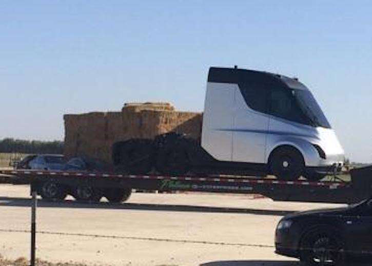 As possible photo leaks, Tesla delays unveiling of electric semi a