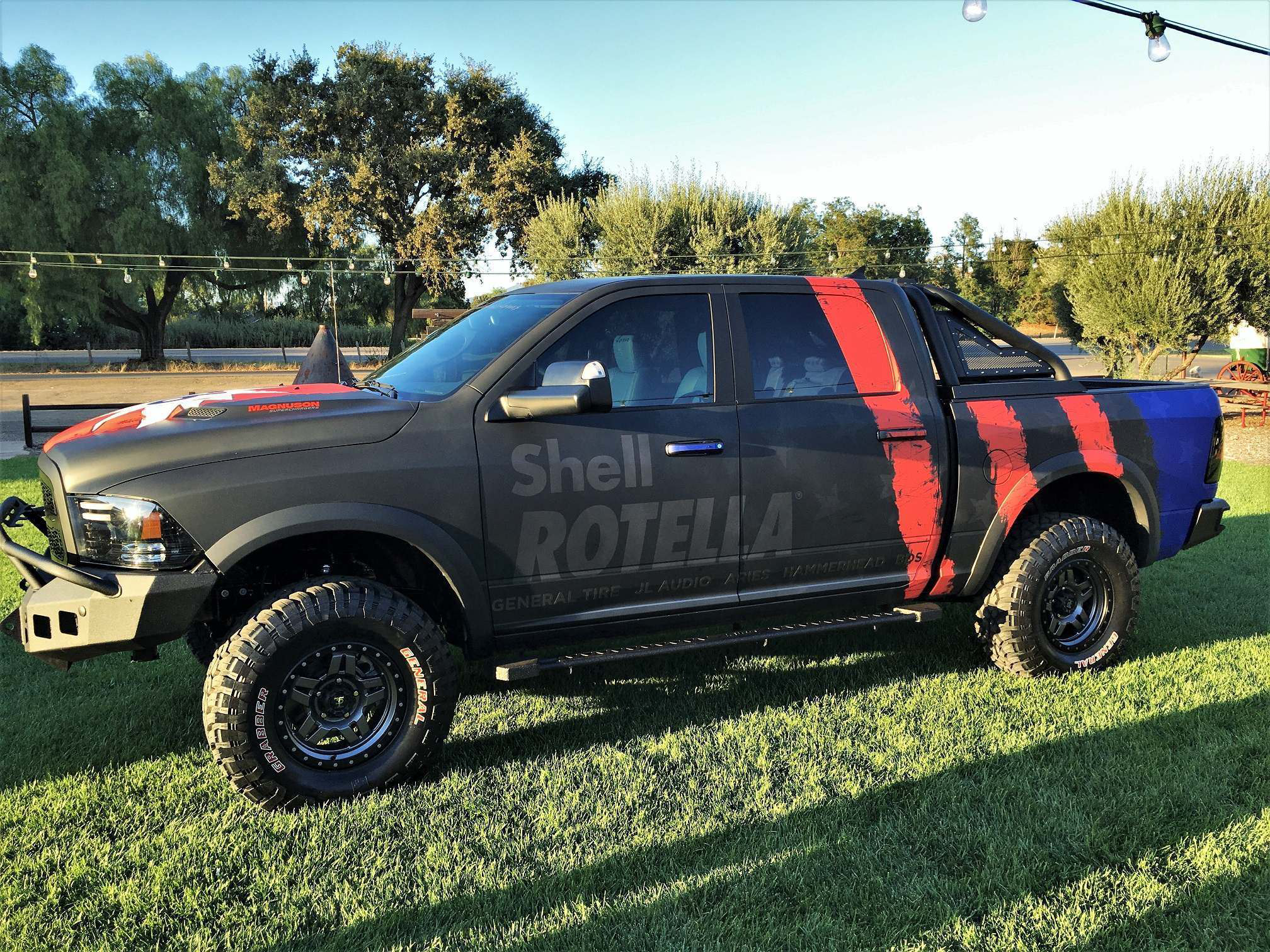Custom Ram 1500 >> Shell Tommy Pike Team Up On Lifted Chevy 3500 Dually Ram Rebel