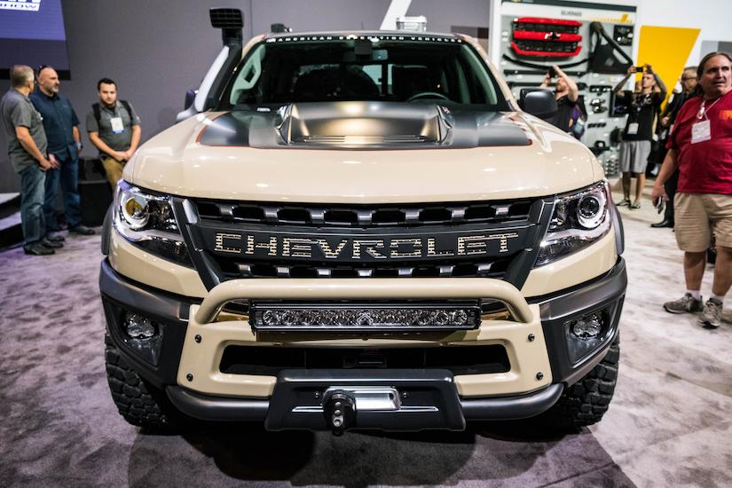 Chevy unveils Colorado ZR2 AEV, a Duramax-powered rock crawler