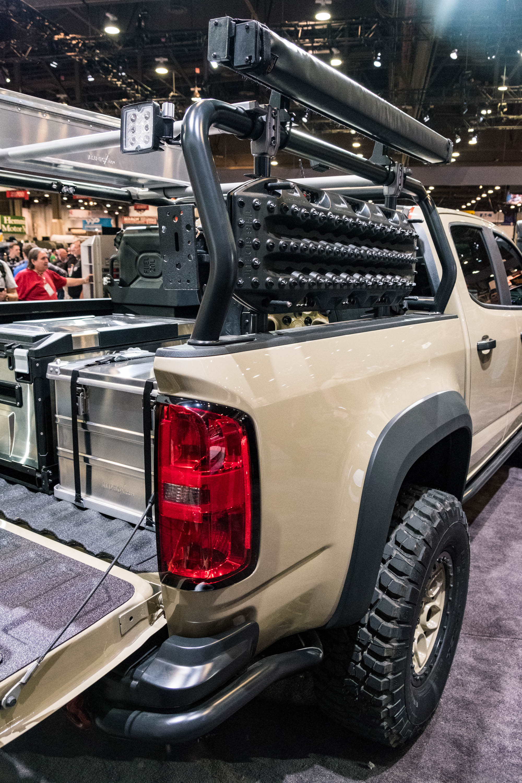 Chevrolet Colorado Zr Aev Concept Sema Of on Duramax Diesel Engines