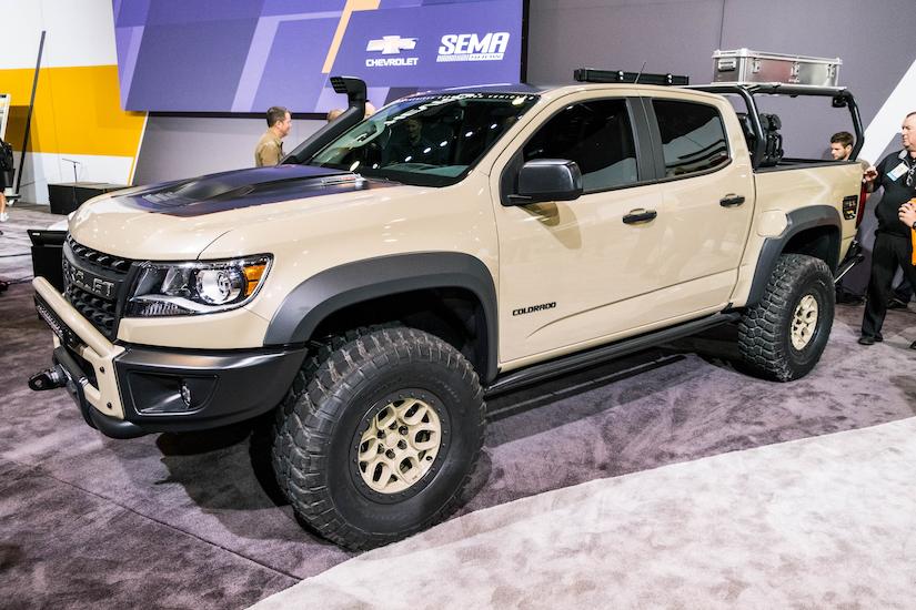 Chevy Unveils Colorado Zr2 Aev A Duramax Powered Rock