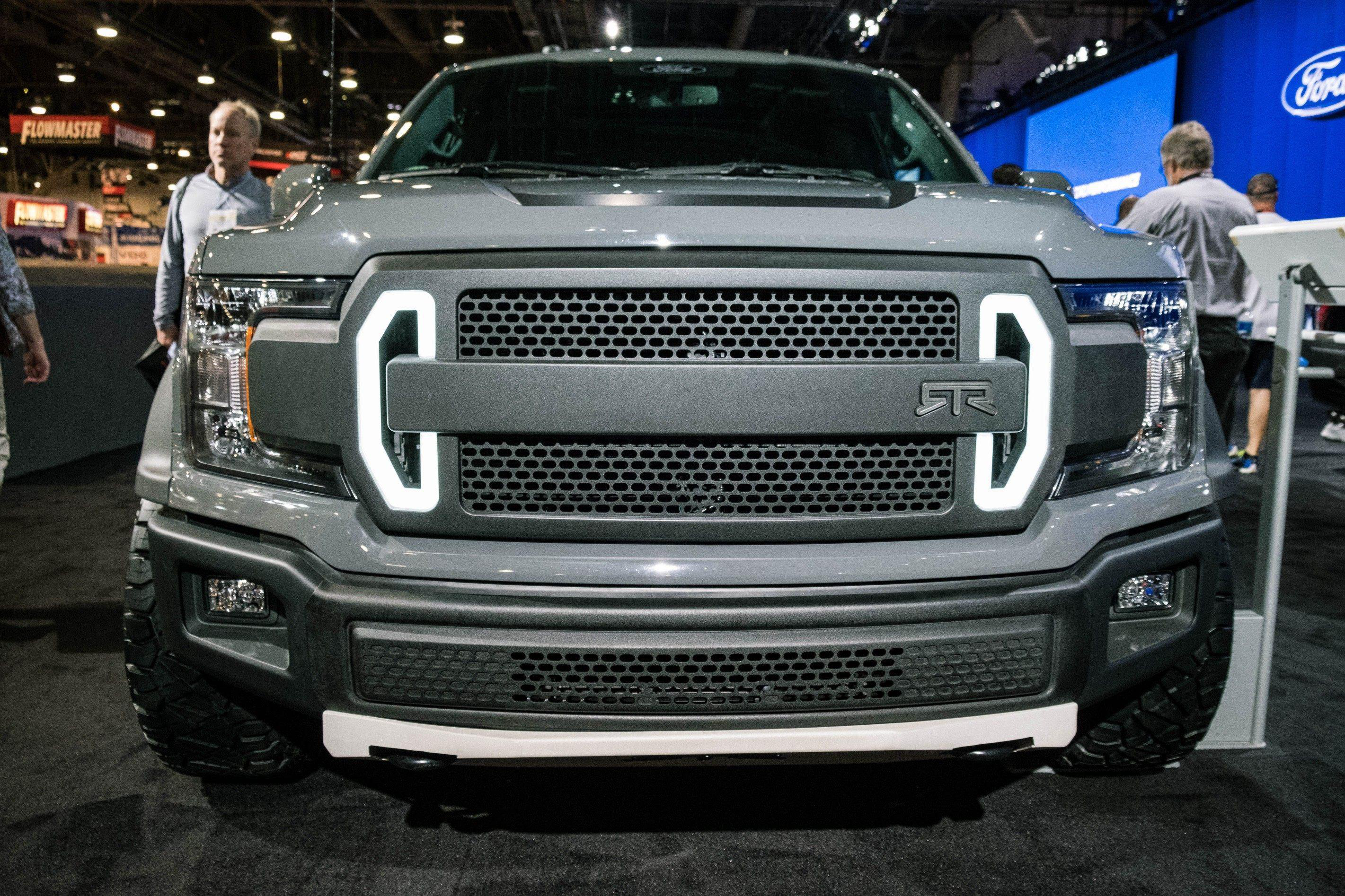 ford unveils 600 hp f 150 rtr muscle truck medium duty work truck info. Black Bedroom Furniture Sets. Home Design Ideas