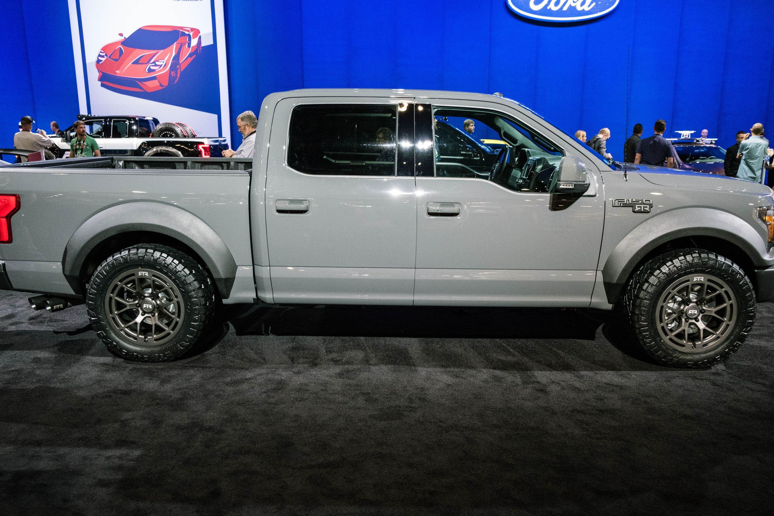 Ford Unveils 600 Hp F 150 Rtr Muscle Truck Medium Duty
