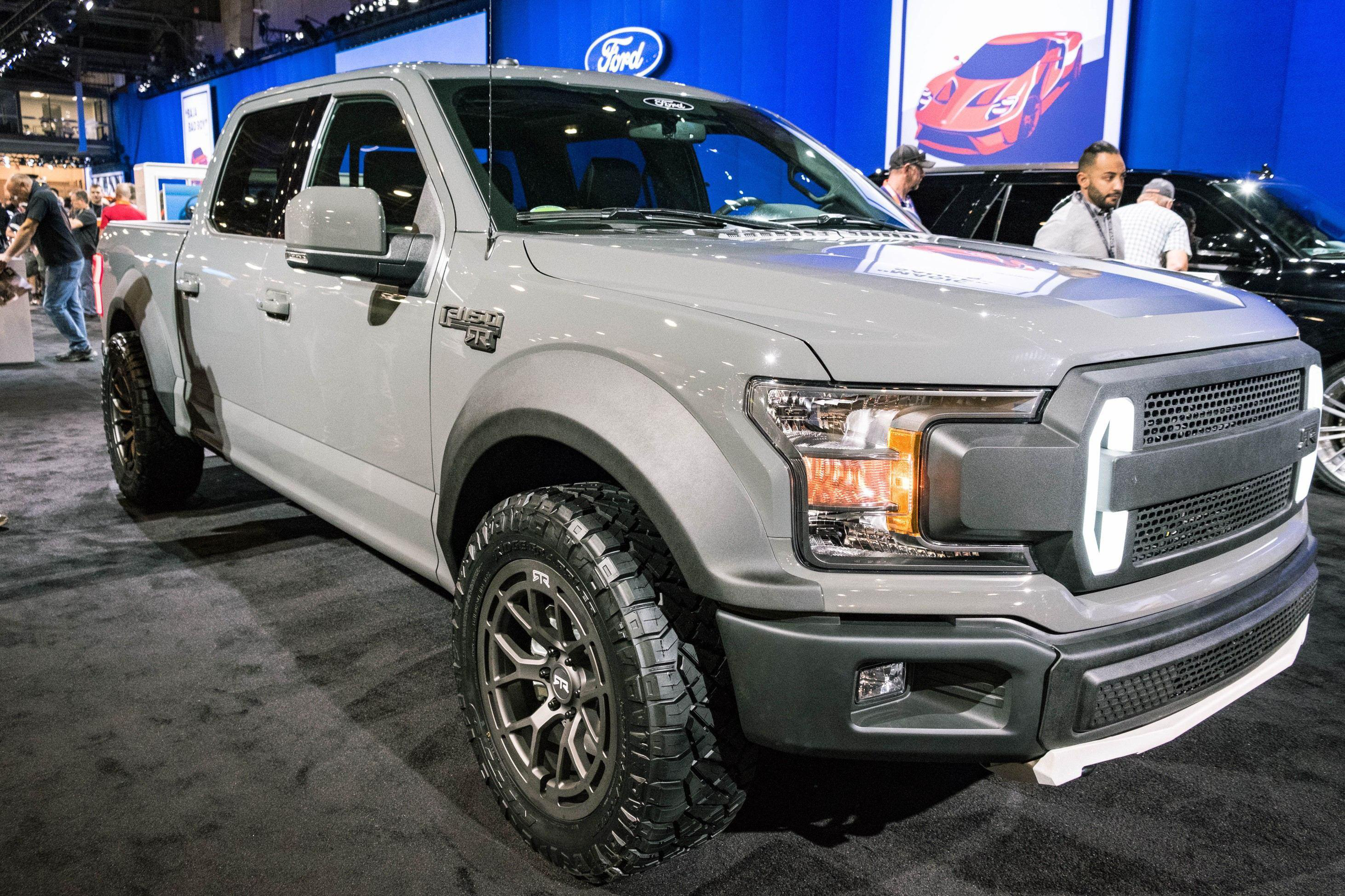 2018 ford f350 platinum. plain ford ford unveils 600hp f150 rtr muscle truck on 2018 ford f350 platinum