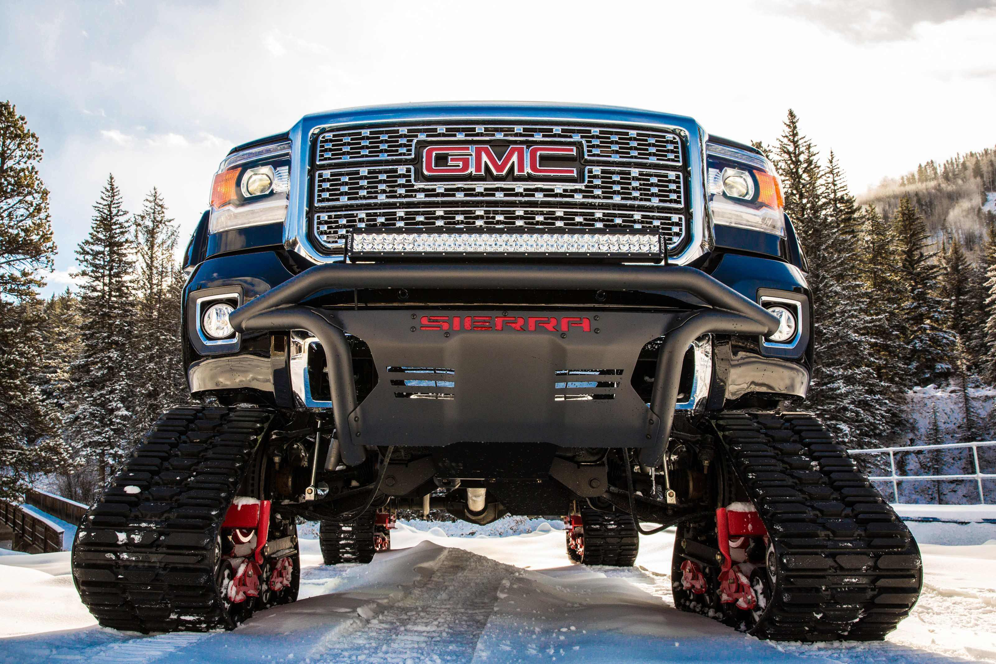 Gmc Unveils Sierra 2500hd All Mountain A Denali With