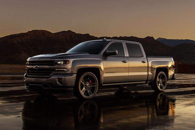 chevy unveils 2018 silverado high performance a corvette inspired sport truck. Black Bedroom Furniture Sets. Home Design Ideas