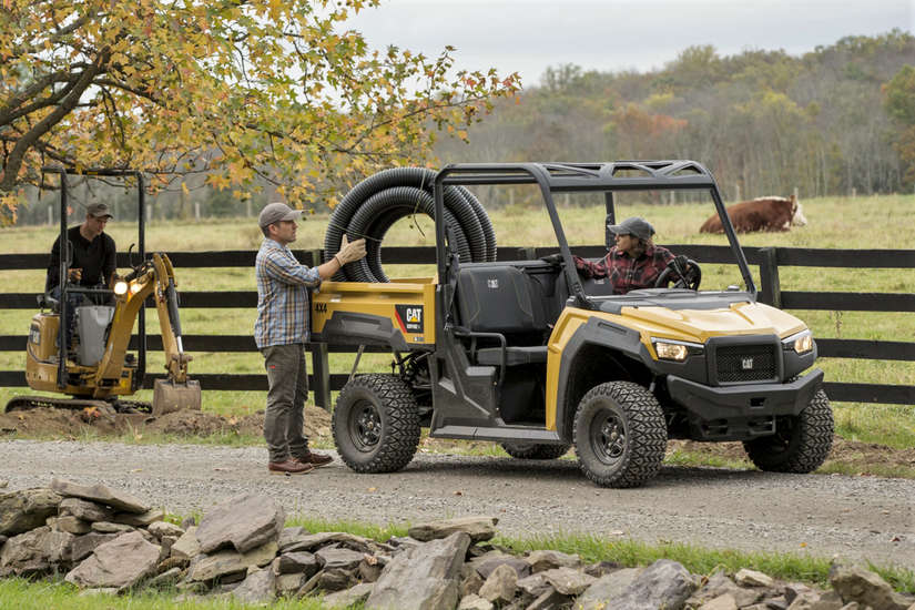Cat Unveils Its First Utvs With Gas And Diesel Models