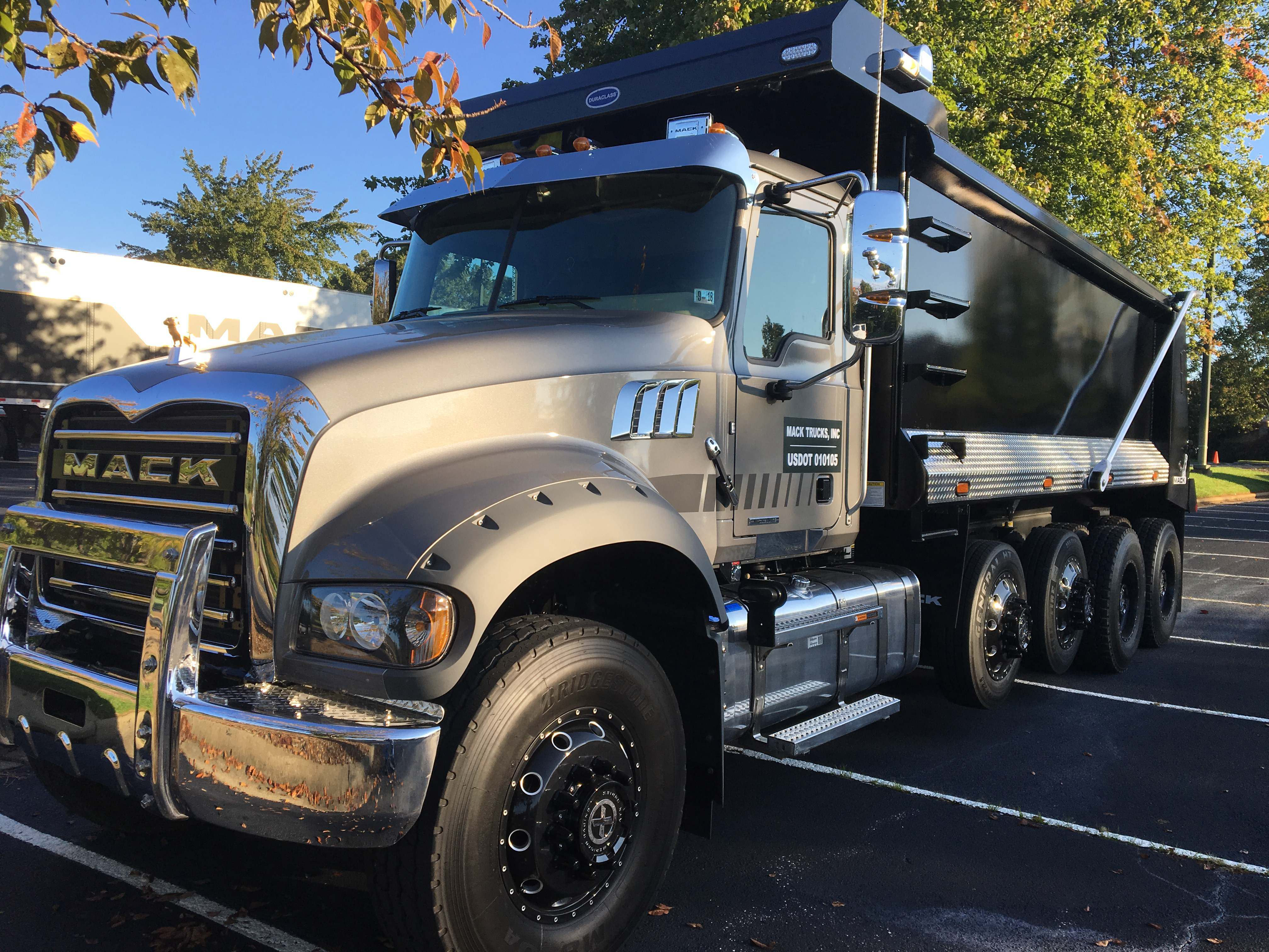 Test Drive Mack S Refreshed Granite Boosts Comfort