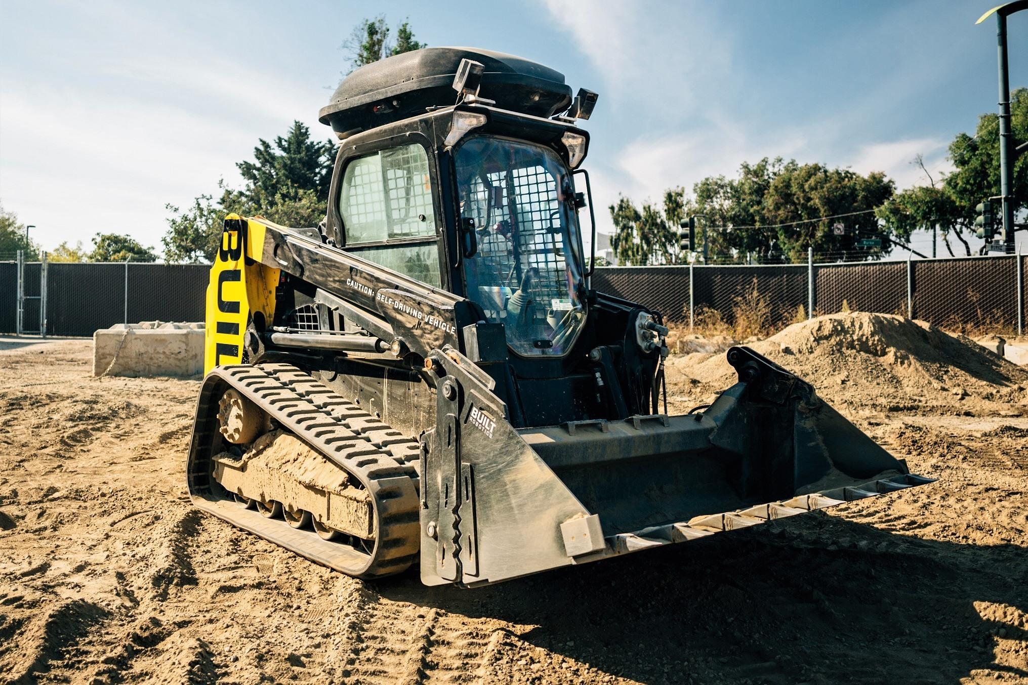 Autonomous Track Loader Performs Low Level Excavation Grading Tasks