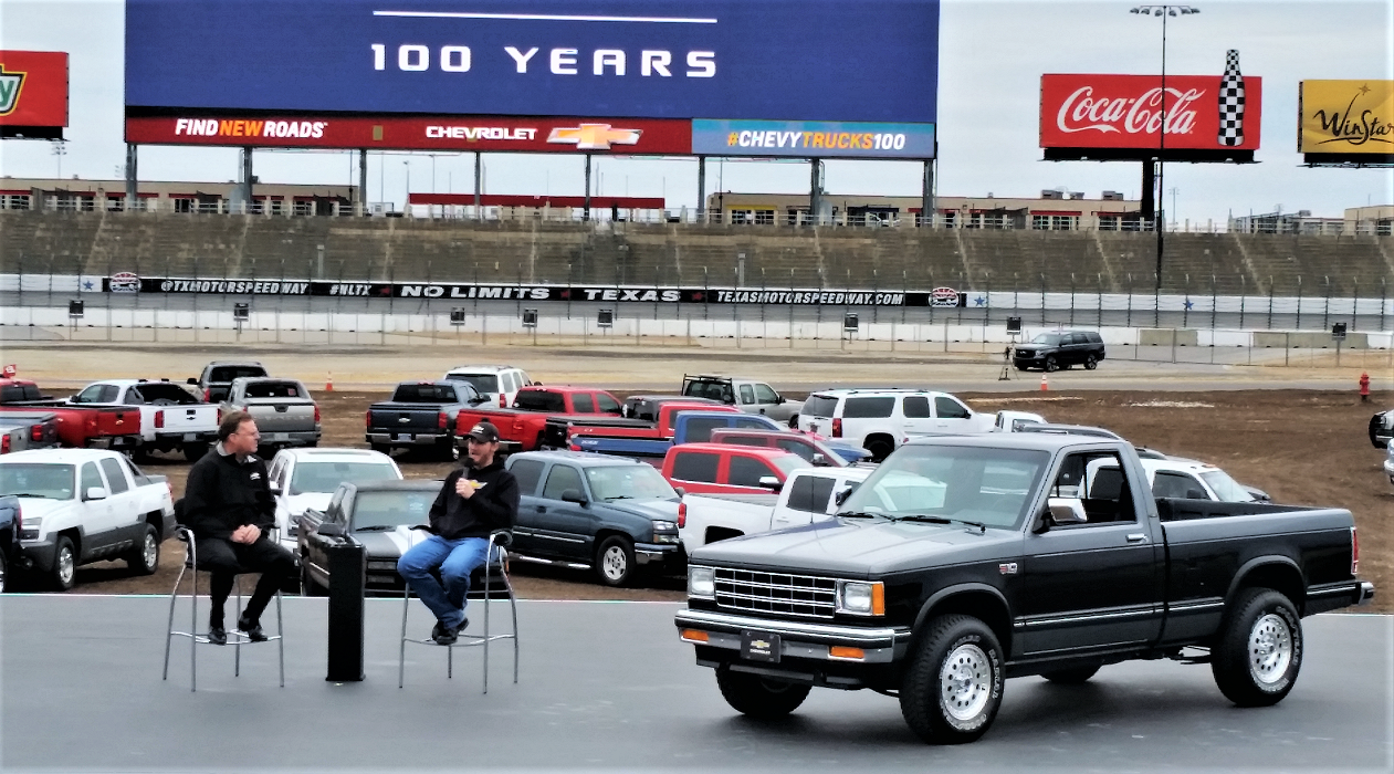 During An Interview With Chevy Vice President Jim Campbell Earnhardt Jr Talked About Getting The Truck At Age 16 Followed By Another S 10 A Few Years