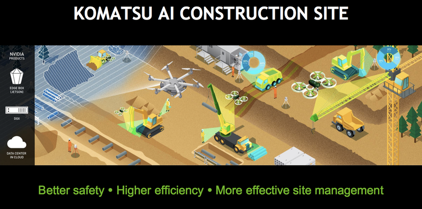 Komatsu Construction Site