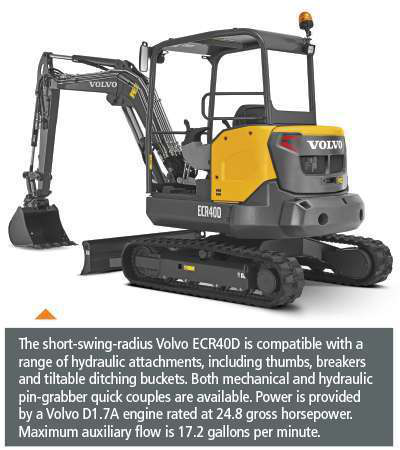 How OEMs are making the versatile compact excavator even better