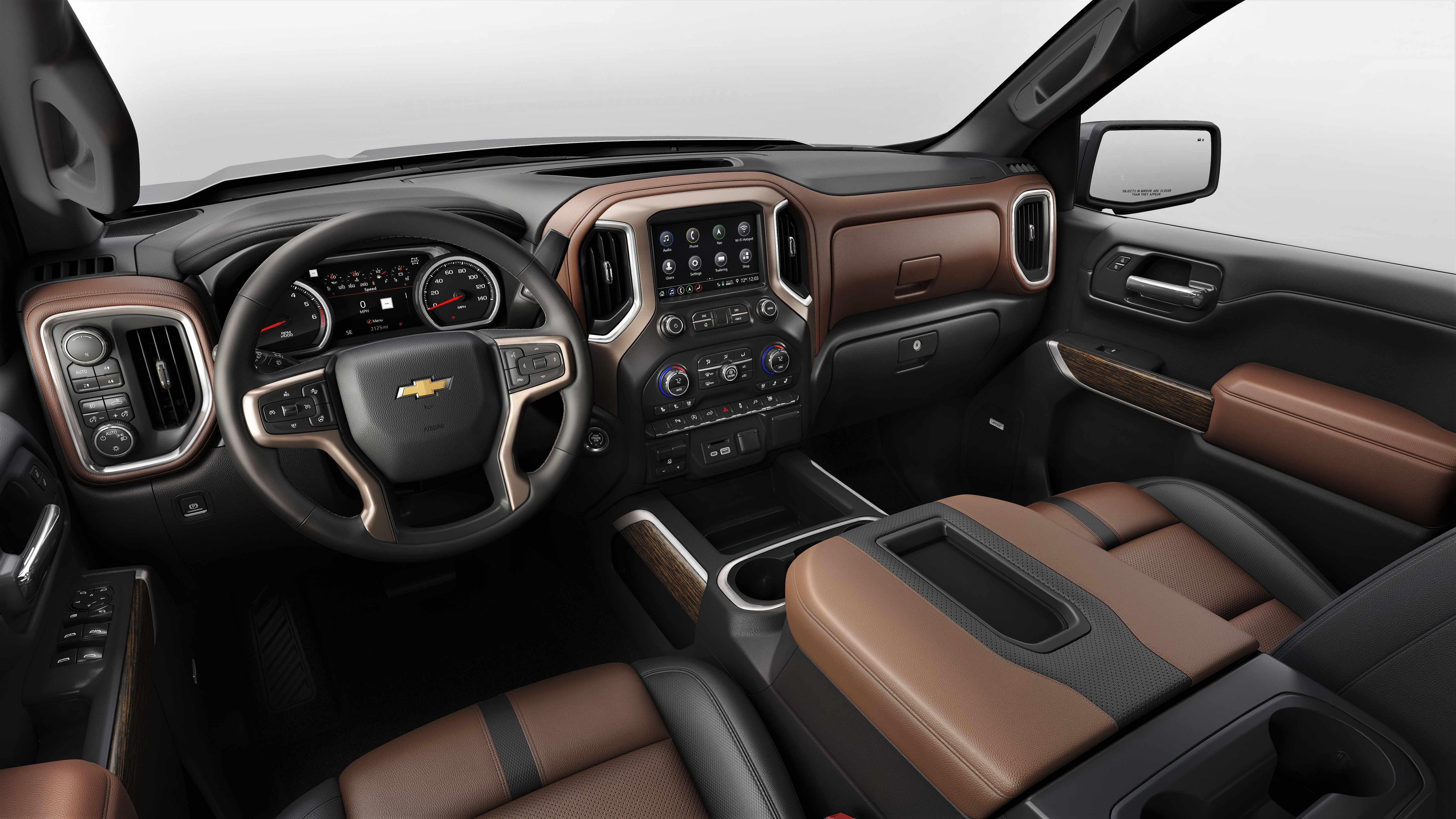 Chevy s 2019 Silverado s new 3L Duramax sel larger wheelbase