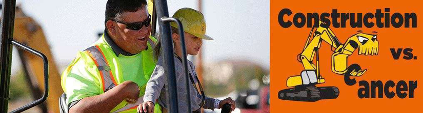 Kid Cancer Survivors Get To Operate Construction Equipment