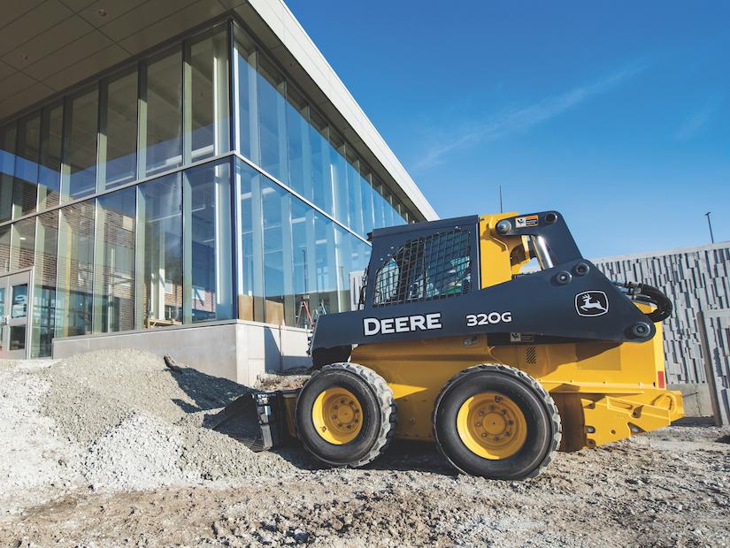 Deere Unveils Mid Frame 320g 324g Skid Steers 325g Ctl