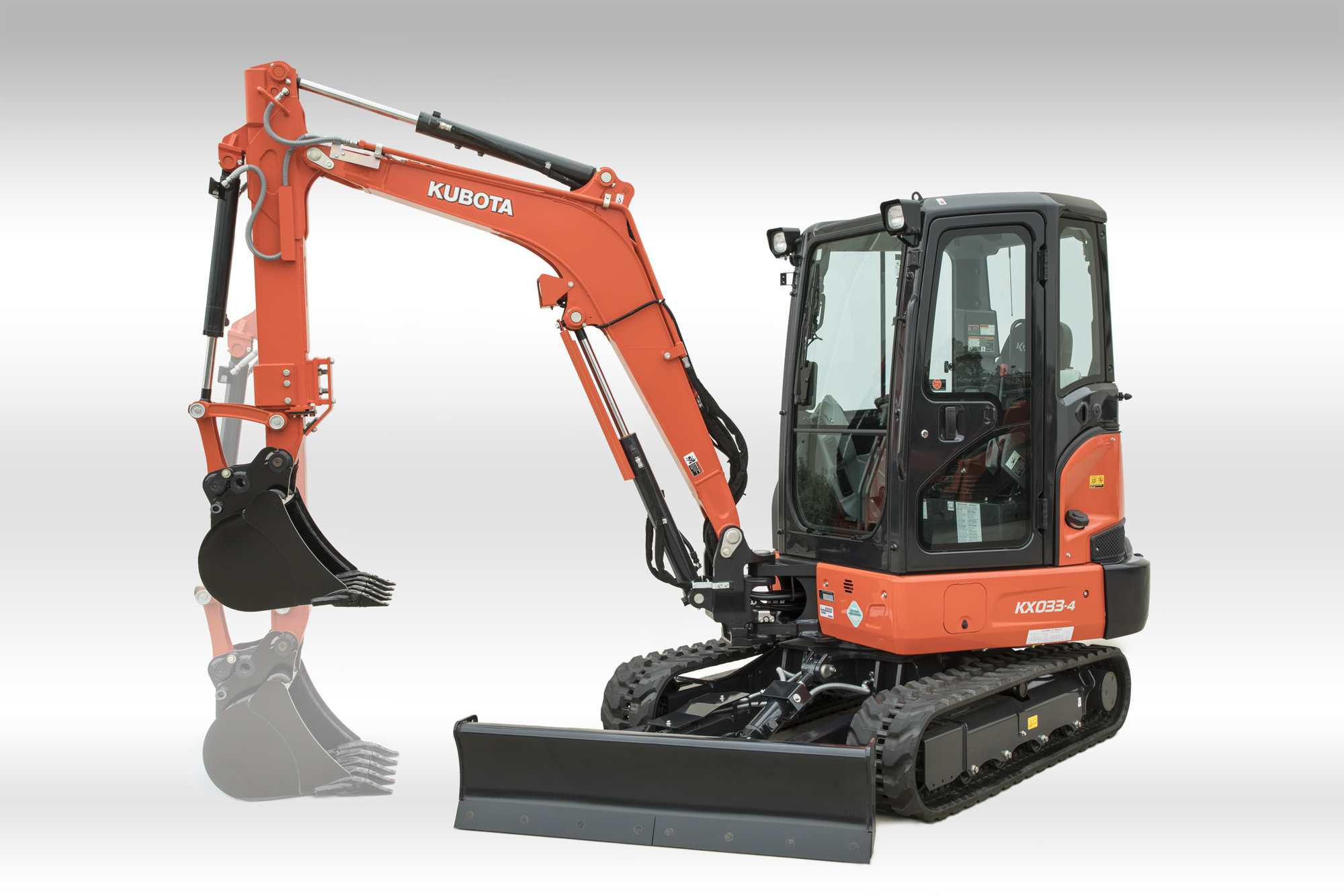 Kubota intros 2 new compact excavators: the U27-4 and the