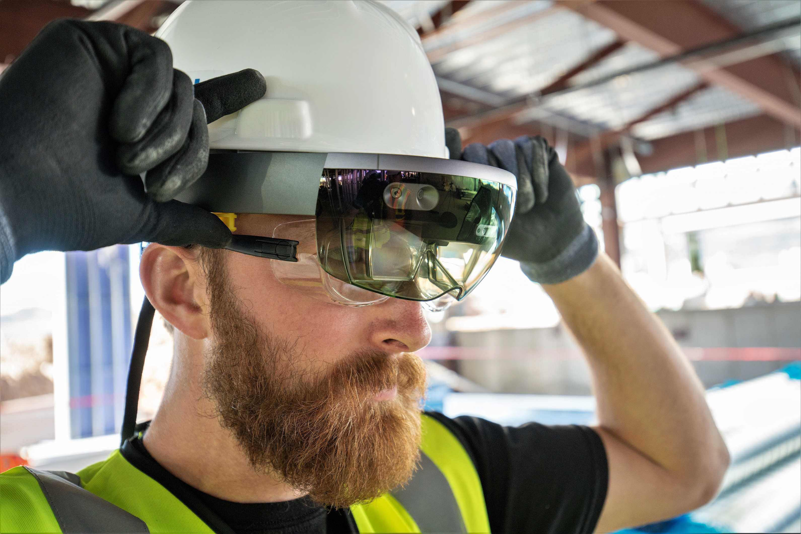 3D virtual reality comes to the jobsite with Trimble's HoloLens