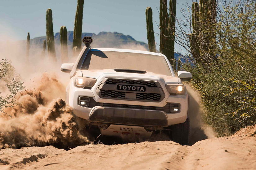 Toyota Unveils 2019 Tundra Tacoma 4runner Trd Pro Lineup