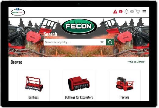 Diadon Enterprises Fecon Opens Up Its Dealer Portal To End Use
