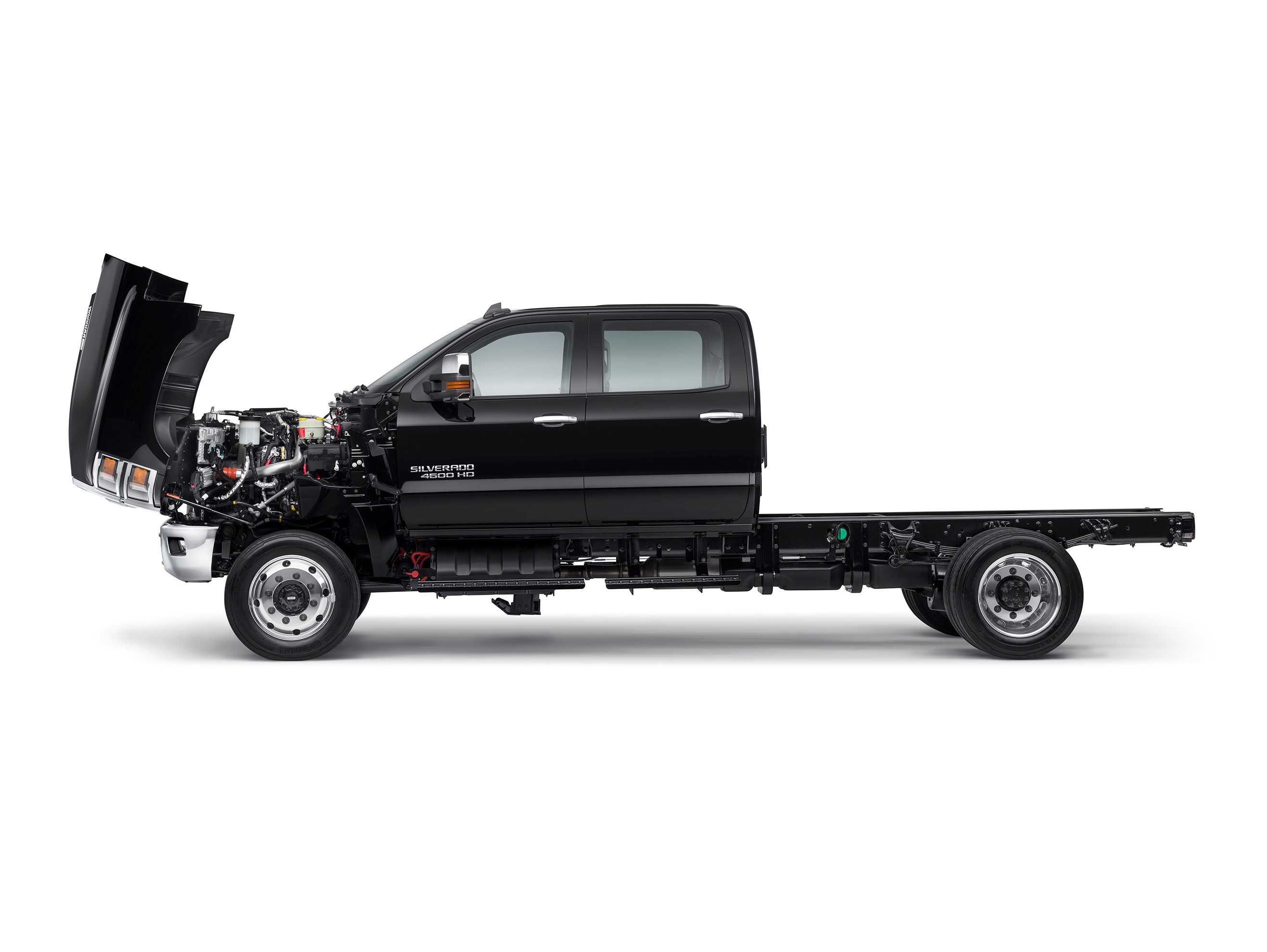 Chevy unveils Silverado 4500HD, 5500HD, surprise 6500HD in ...
