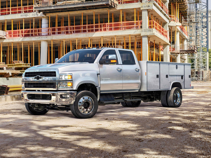 Chevy unveils Silverado 4500HD, 5500HD, surprise 6500HD in return to medium duty