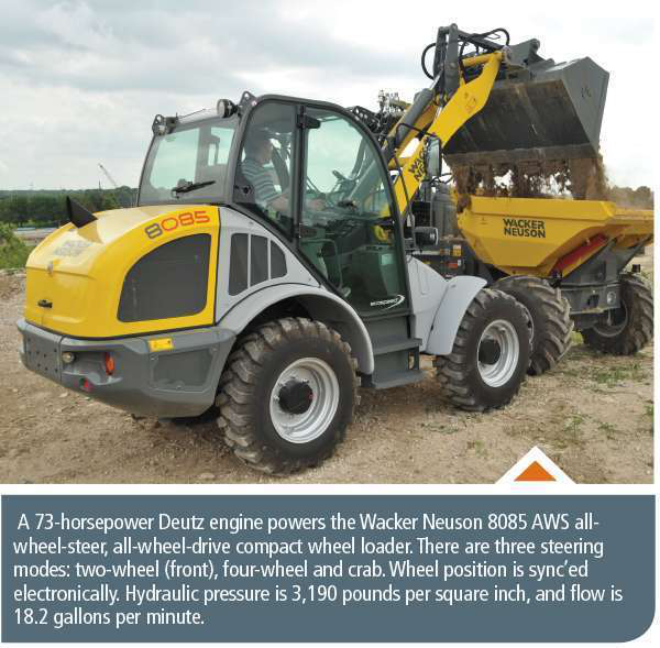 Latest compact wheel loaders boast new abilities to compete