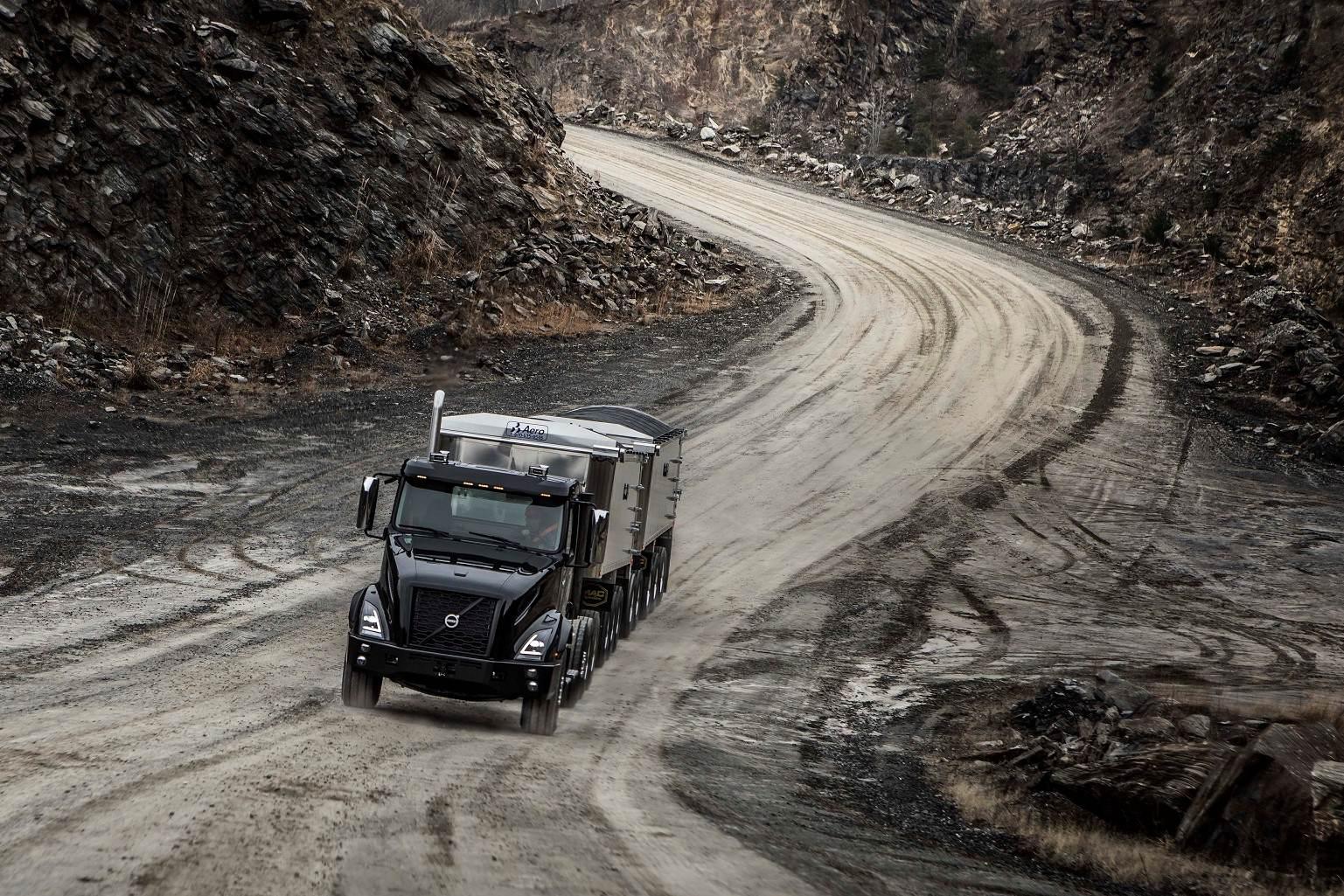 Volvo unveils new VNX Series trucks designed for heaviest of