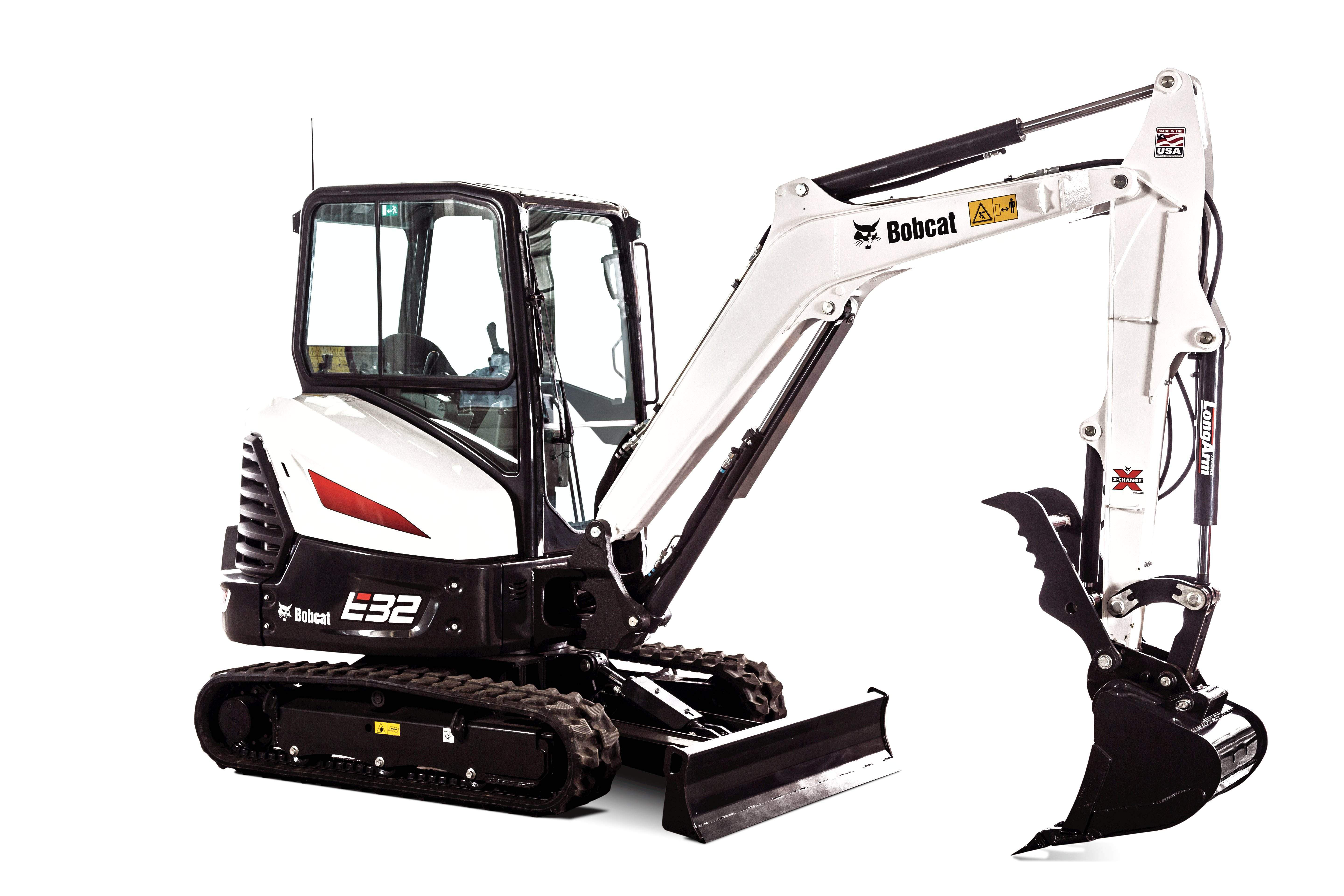 Bobcat intros redesigned grading and trenching buckets for