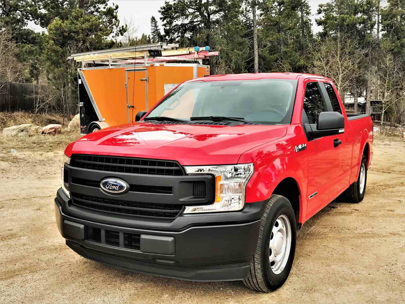test drive ford 39 s new diesel f 150 delivers great power. Black Bedroom Furniture Sets. Home Design Ideas