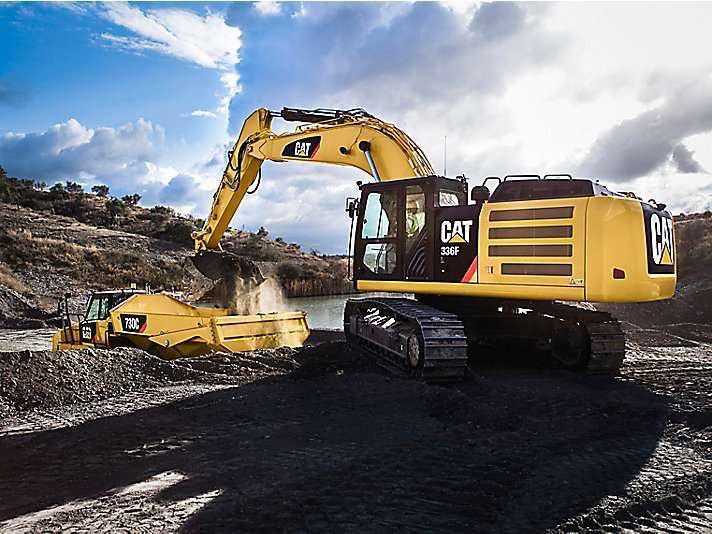 Cat, Komatsu, Deere were the top financed excavator brands