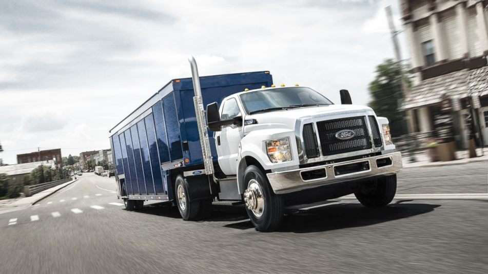 Certain 2018 Ford F-650 and F-750 vehicles recalled