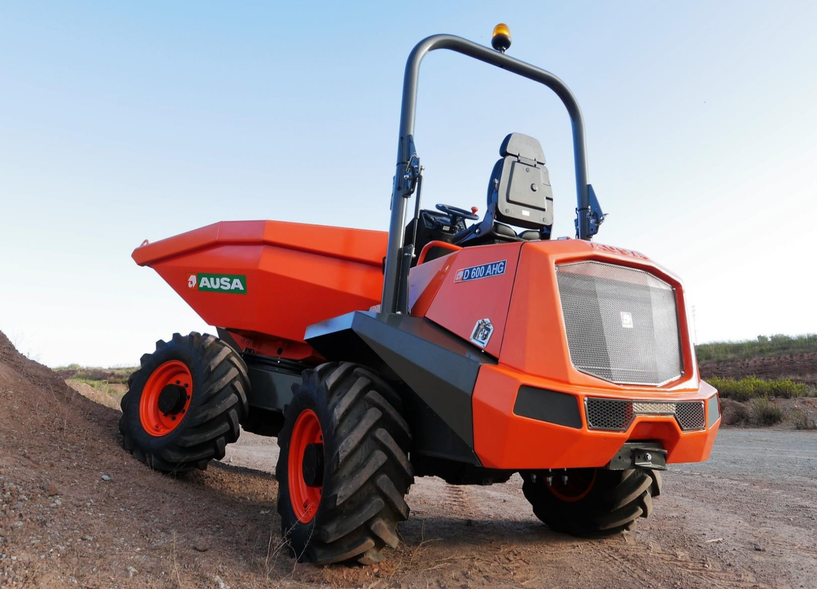 Check Engine Light On And Off >> Check out the newest site & electric dumpers from AUSA