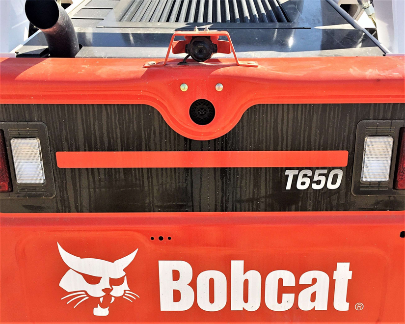 No More Blind Spots With Bobcat S New Rear View Camera