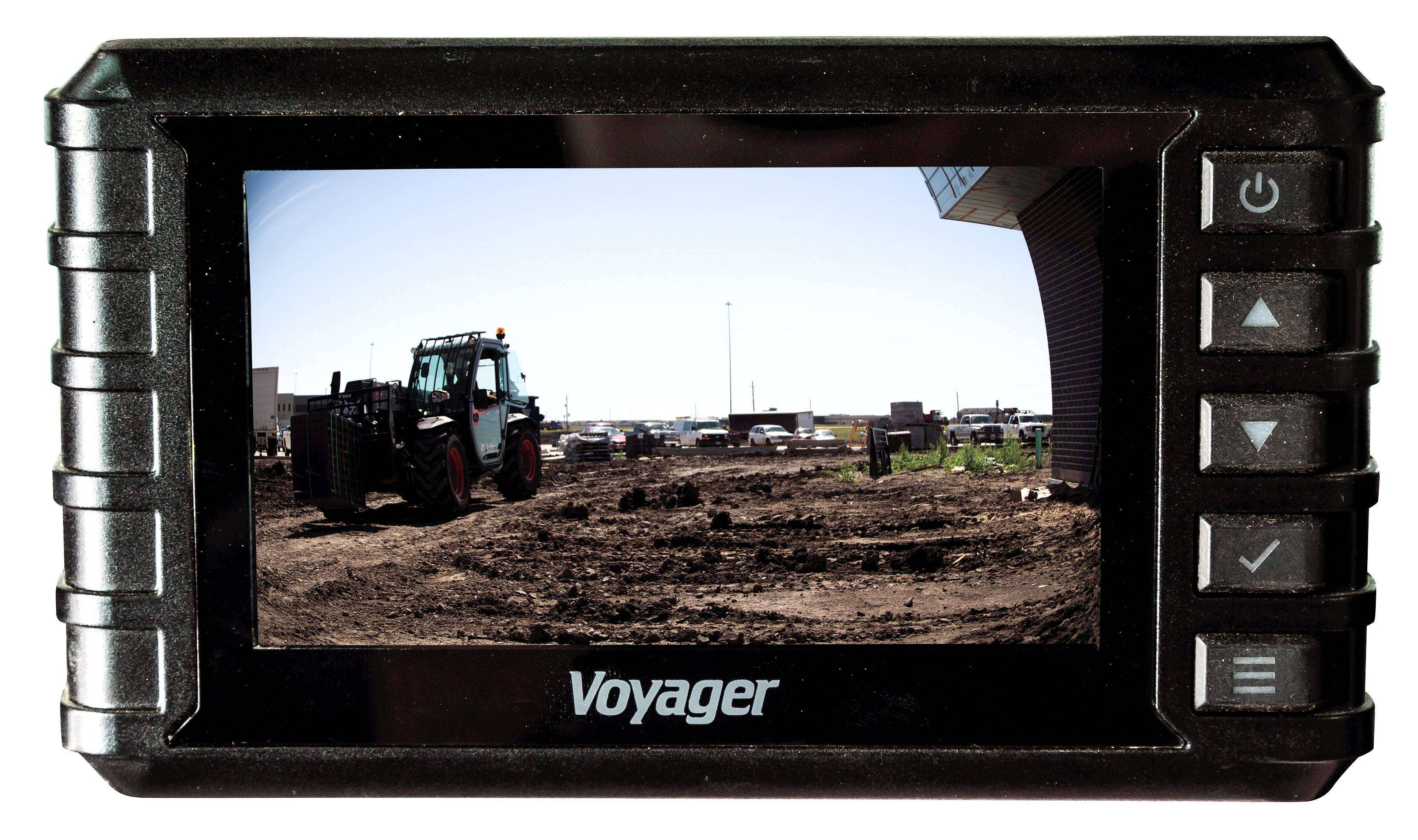 No more blind spots with Bobcat's new Rear View Camera