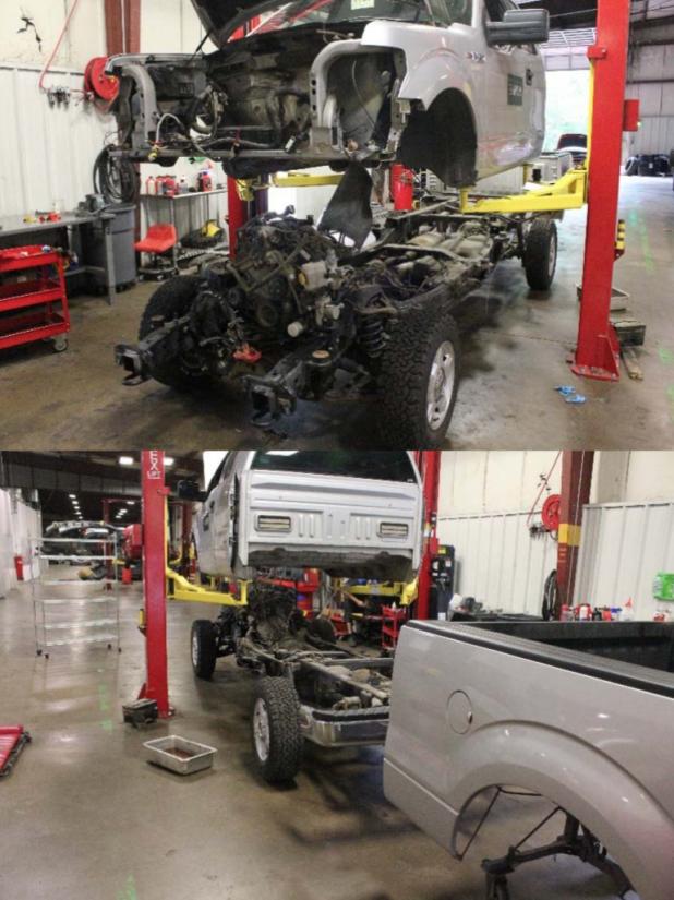 Vehicle Reman rebuilding process