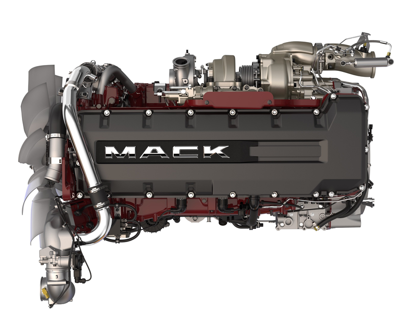 mack diesel engine diagram new mack anthem with more efficient mp8he engine