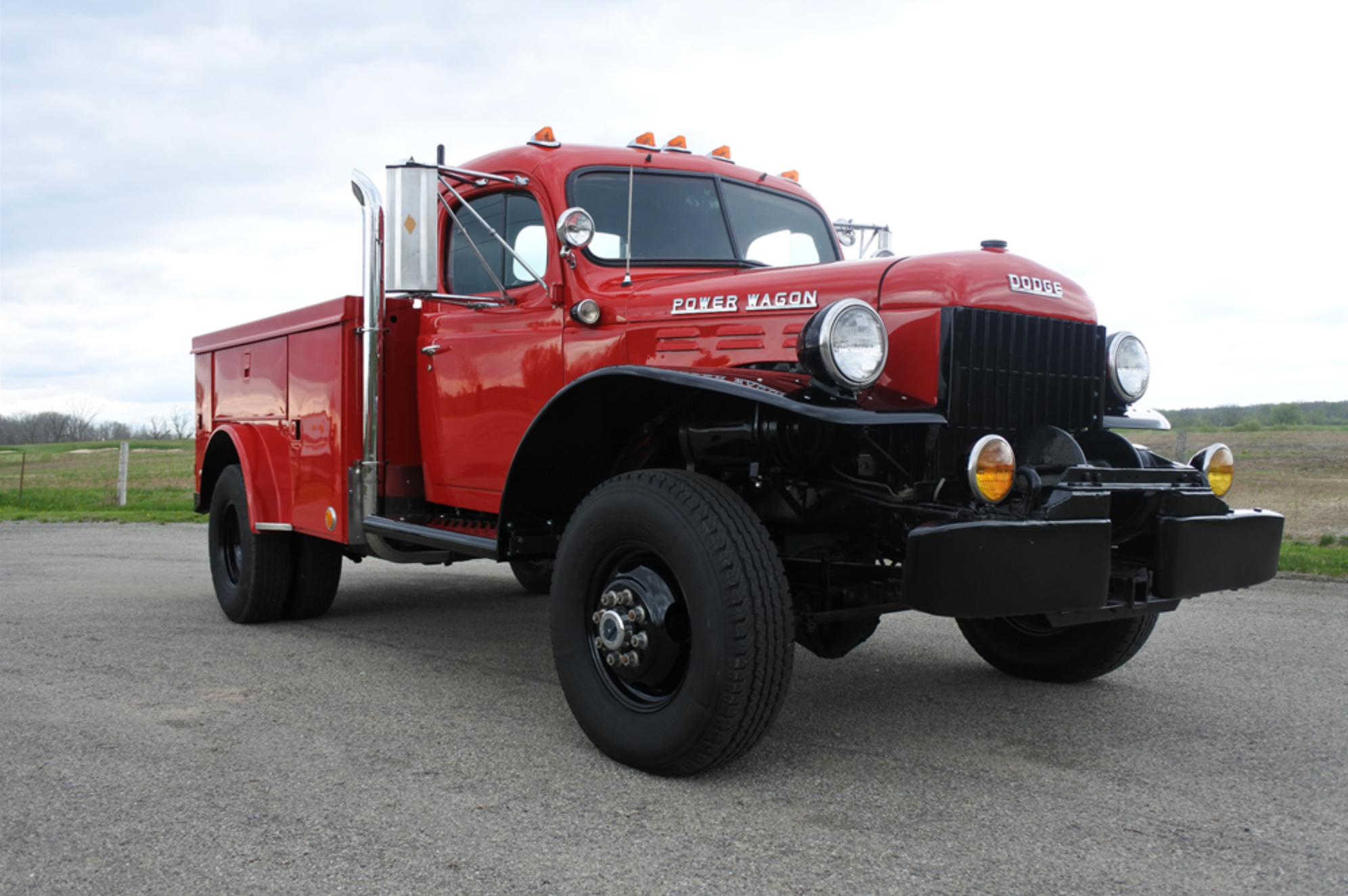 Custom Fwd 1948 Dodge Power Wagon Service Truck Equipment World