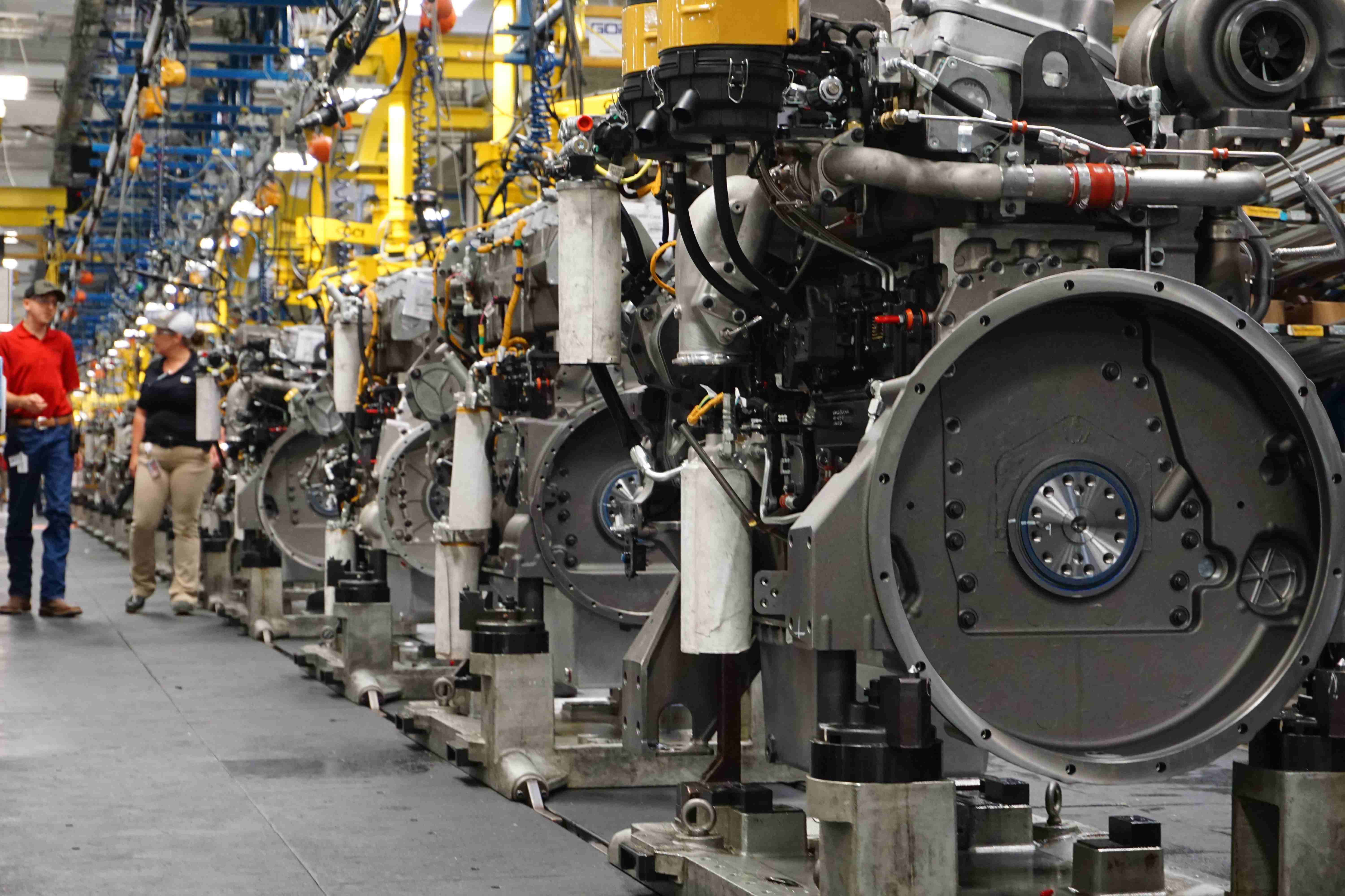 Take a look inside Caterpillar's Seguin engine plant