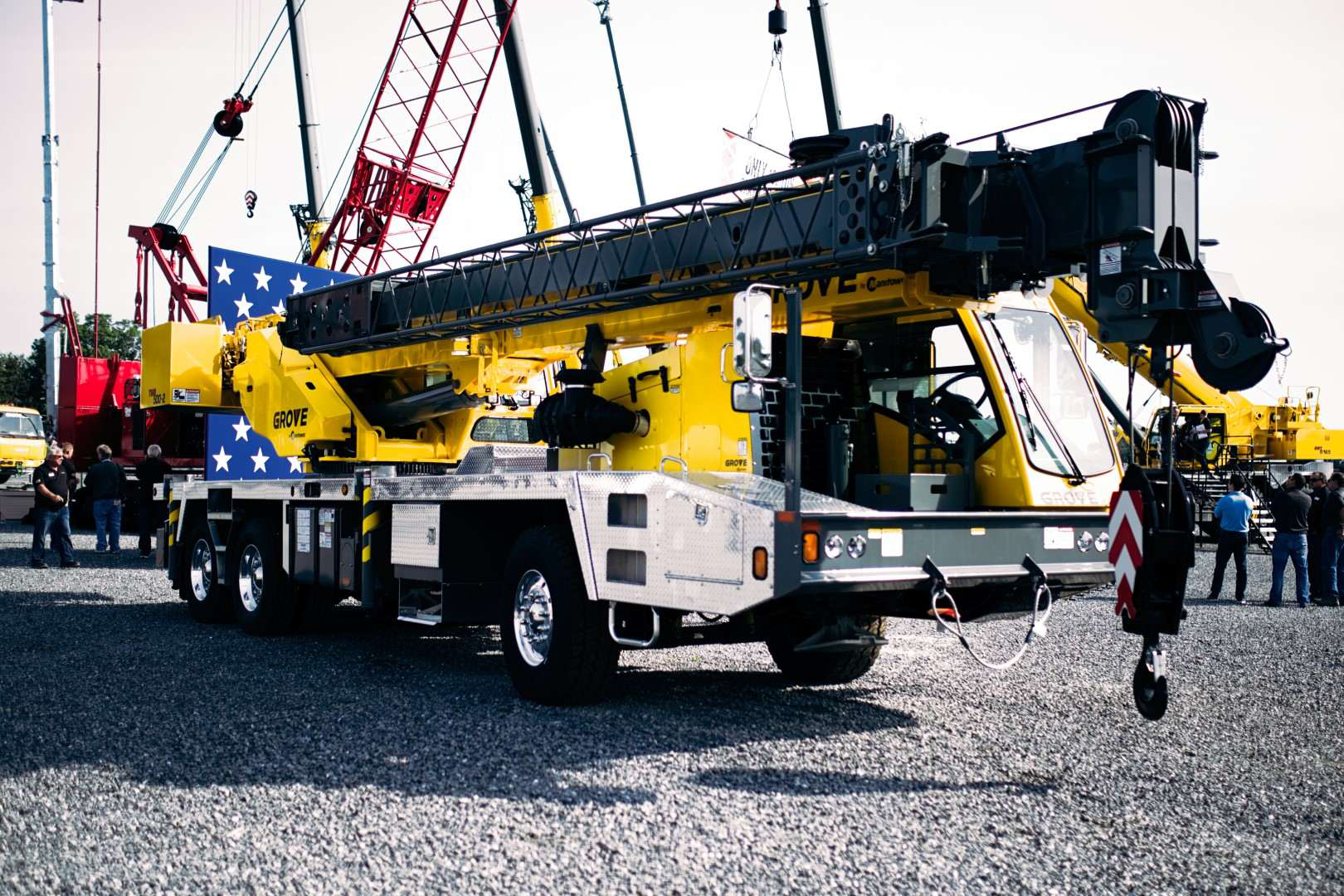 Manitowoc Cranes' way of parts pricing across its network