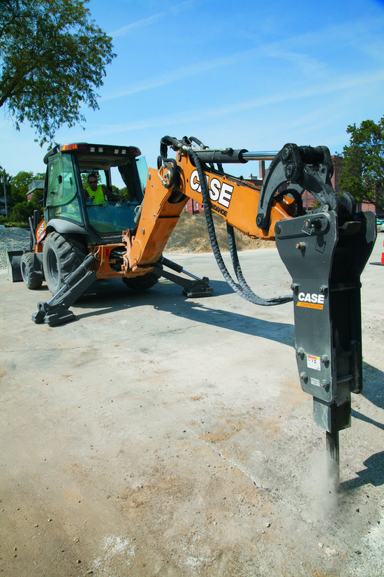 Six backhoe attachments that will extend its abilities