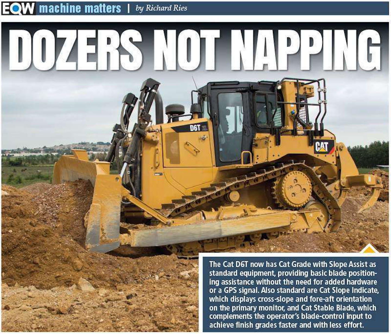 equipment world machine matters dozers not napping