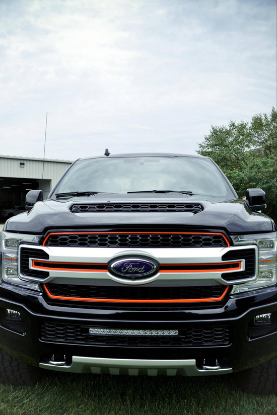 Ford F250 Truck Bed Replacement >> Custom Harley-Davidson Ford F-150 is back for 2019