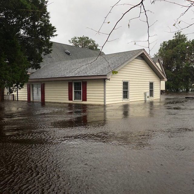 north carolina flooding from hurricane florence